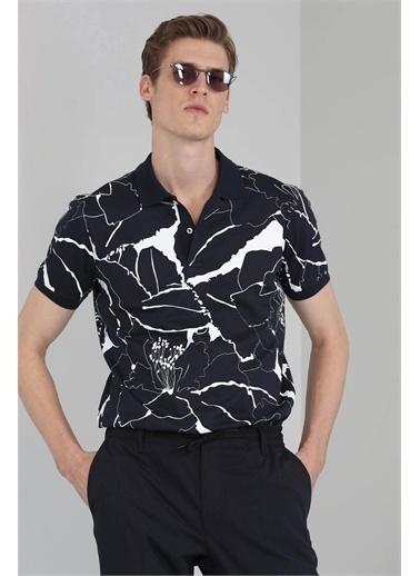 Lufian Lamas Spor Polo T- Shirt   Lacivert